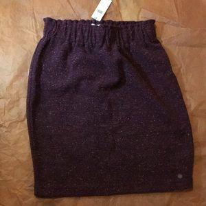Numph Anthropologie Knit Mini Skirt Style